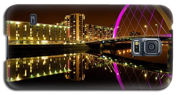 The Clyde Arc In Purple Galaxy S5 Case