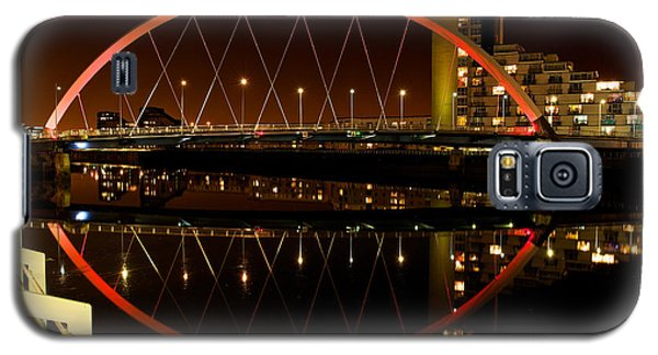 The Clyde Arc In Red Galaxy S5 Case by Stephen Taylor