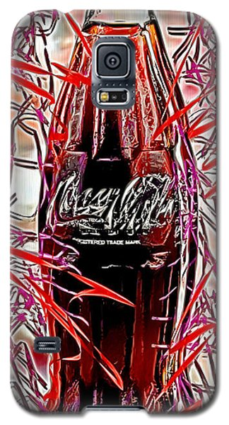 Galaxy S5 Case featuring the digital art The Coca-cola Bottle by Daniel Janda
