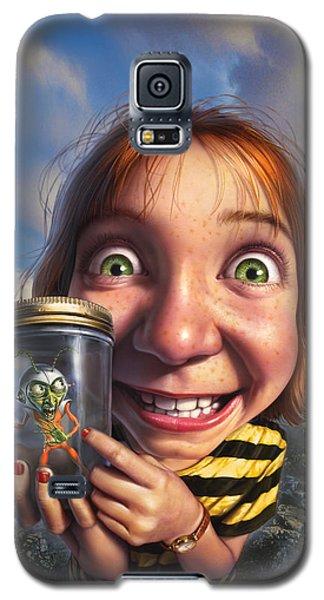 Aliens Galaxy S5 Case - The Collector by Mark Fredrickson