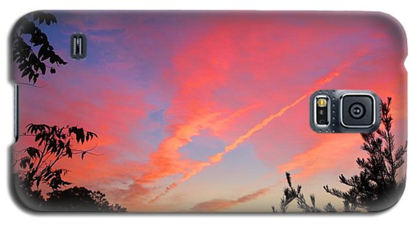 Galaxy S5 Case featuring the photograph The Color Gets Good by Kathryn Meyer