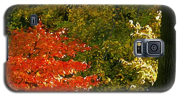 Galaxy S5 Case featuring the photograph The Color Of Autumn by Yue Wang