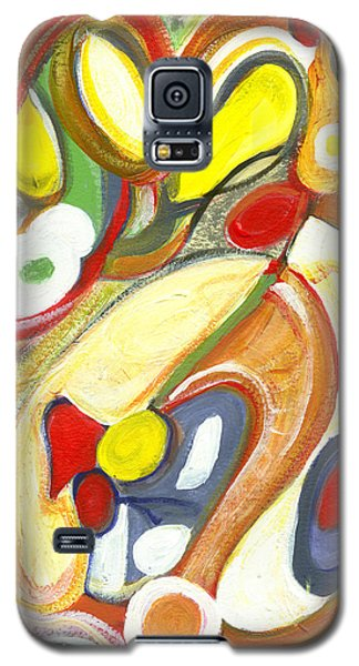 Galaxy S5 Case featuring the painting The Color Of Love by Stephen Lucas