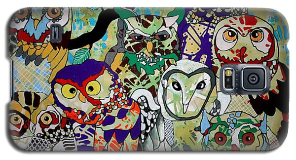 The Color Of Owls Galaxy S5 Case