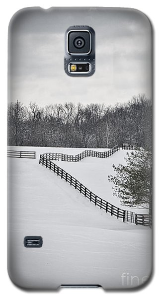 The Color Of Winter - Bw Galaxy S5 Case