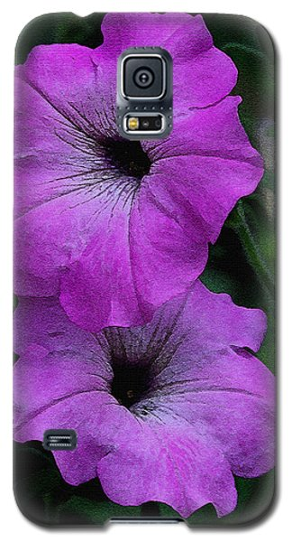 Galaxy S5 Case featuring the photograph The Color Purple   by James C Thomas