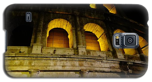 The Colosseum At Night Galaxy S5 Case