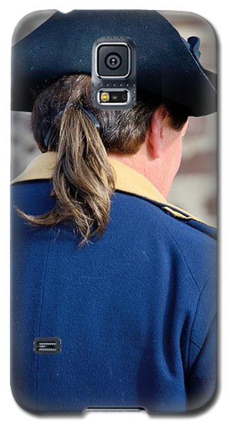 Galaxy S5 Case featuring the photograph The Continental Officer by Steven Richman