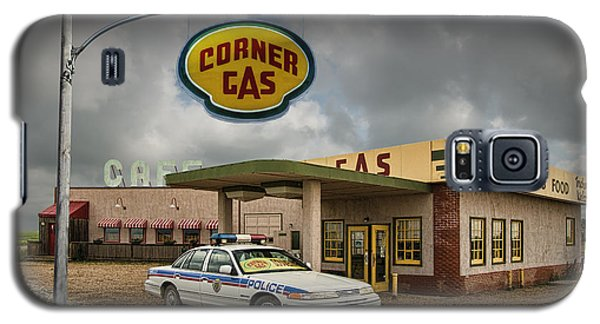 The Corner Gas Station From The Canadian Tv Sitcom Galaxy S5 Case
