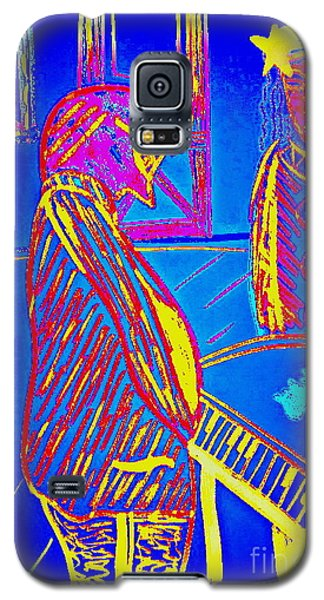 Galaxy S5 Case featuring the drawing The Cotton Club by Bill OConnor