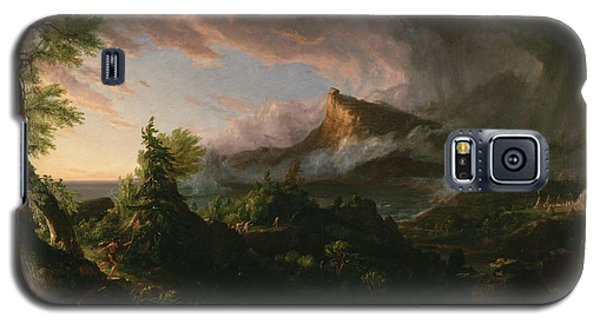 The Course Of Empire The Savage State  Galaxy S5 Case by Thomas Cole