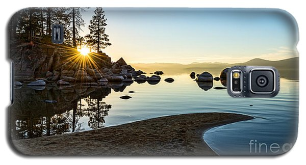 The Cove At Sand Harbor Galaxy S5 Case by Jamie Pham