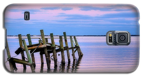 Galaxy S5 Case featuring the photograph The Cove Dock by Brian Hughes