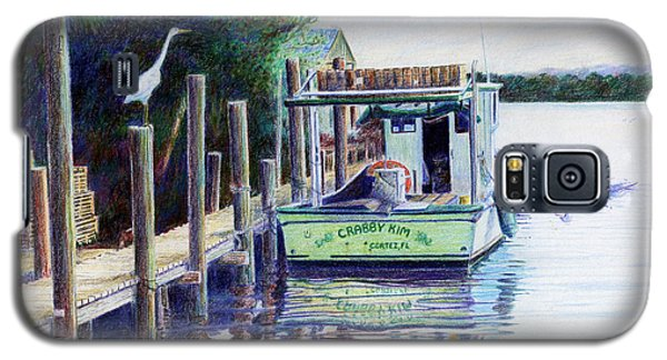 The Crabby Kim Galaxy S5 Case by Roger Rockefeller