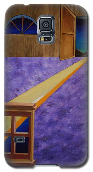 Galaxy S5 Case featuring the painting The Crack Of Dawn by Stuart Engel