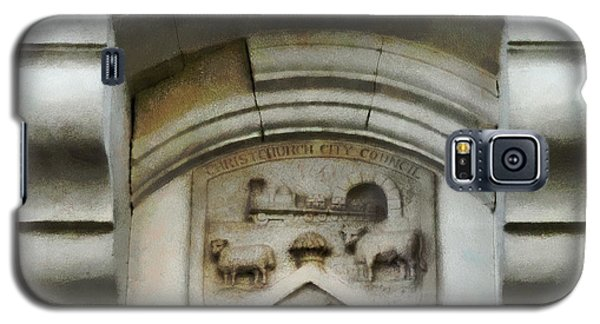 The Crest Of The Christchurch City Council Galaxy S5 Case by Steve Taylor
