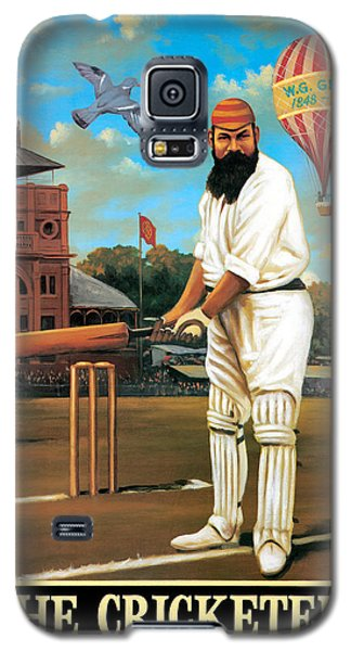 Cricket Galaxy S5 Case - The Cricketers by Peter Green