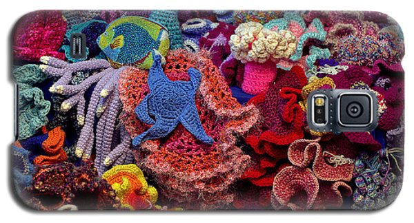 Galaxy S5 Case featuring the photograph The Crochet Coral Reef by Farol Tomson