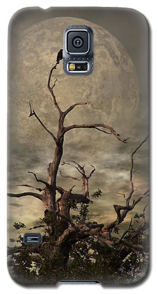 Planets Galaxy S5 Case - The Crow Tree by YoursByShores Isabella Shores