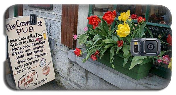 The Crow's Nest Pub In Cong Ireland Galaxy S5 Case by Melinda Saminski