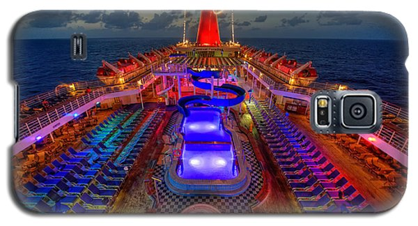 The Cruise Lights At Night Galaxy S5 Case