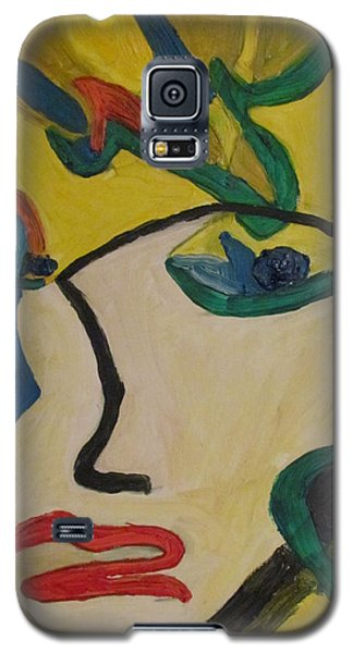The Crying Girl Galaxy S5 Case by Shea Holliman