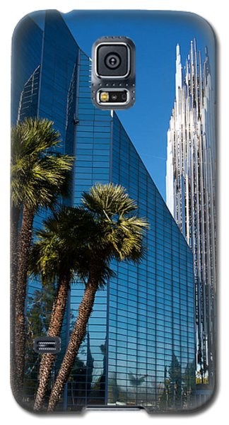 Galaxy S5 Case featuring the photograph The Crystal Cathedral  by Duncan Selby