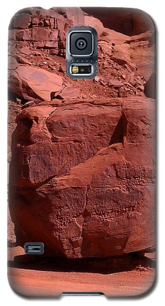 Galaxy S5 Case featuring the photograph The Cube by Fortunate Findings Shirley Dickerson