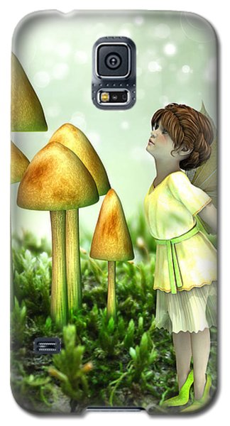 The Curious Fairy Galaxy S5 Case