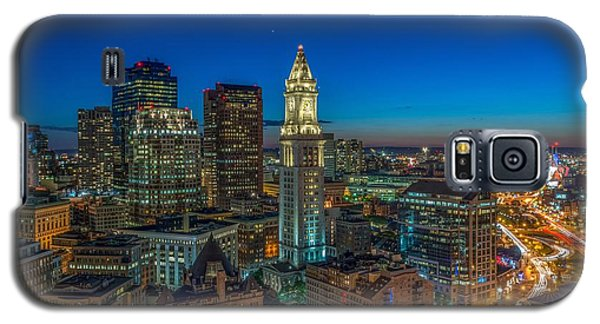 The Customs House Rose Kennedy Greenway And The Zakim Bridge Galaxy S5 Case