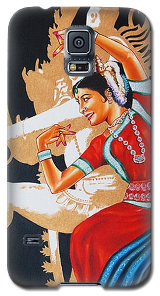 The Dance Divine Of Odissi Galaxy S5 Case by Ragunath Venkatraman