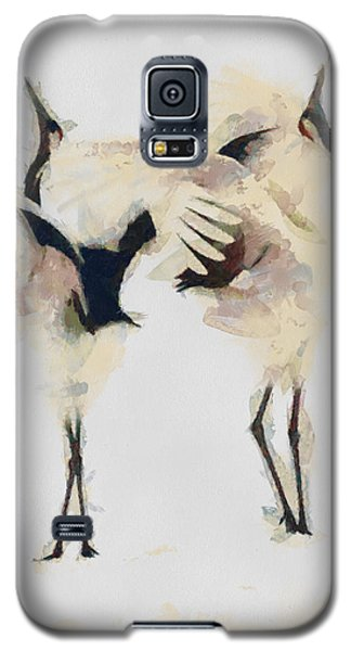 Galaxy S5 Case featuring the painting The Dance by Georgi Dimitrov