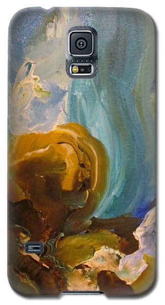 Galaxy S5 Case featuring the painting The Dance by Shea Holliman
