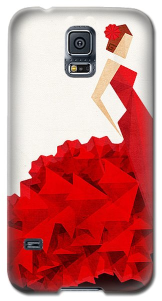 The Dancer Flamenco Galaxy S5 Case by VessDSign