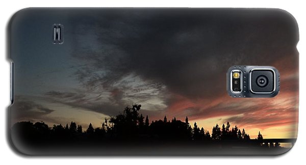 The Dark Side Of The Sunset Galaxy S5 Case
