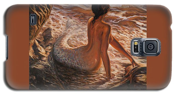 The Daughter Of The Sea Galaxy S5 Case by Marco Busoni
