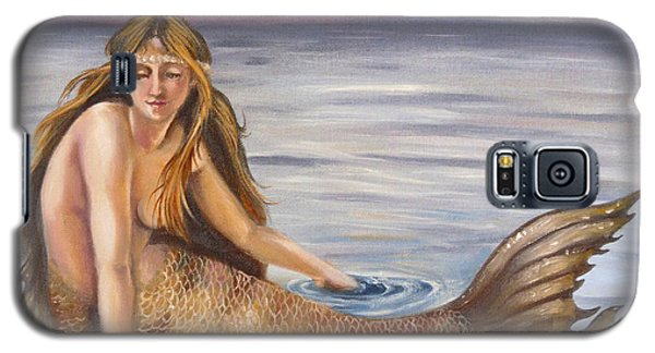 Galaxy S5 Case featuring the painting The Day-dreamer by Phyllis Beiser