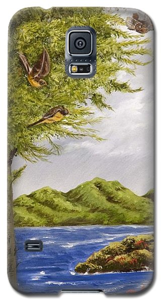 The Day Of The Robins Galaxy S5 Case by Susan Culver