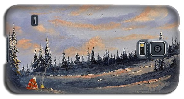 Galaxy S5 Case featuring the painting The Days End by Richard Faulkner
