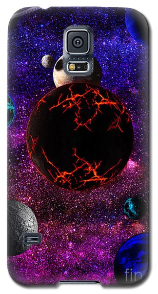 Galaxy S5 Case featuring the digital art The Dead Solar System  by Naomi Burgess