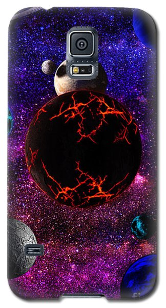 The Dead Solar System  Galaxy S5 Case by Naomi Burgess