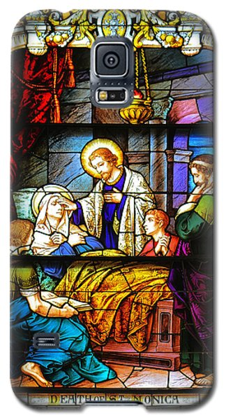 Galaxy S5 Case featuring the photograph The Death Of St Monica St Augustine by Christine Till