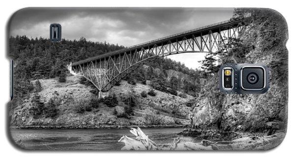 The Deception Pass Bridge II Bw Galaxy S5 Case