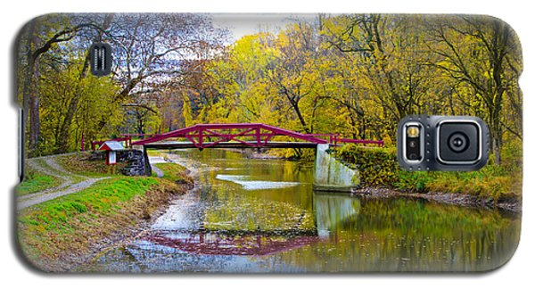 The Delaware Canal Near New Hope Pa In Autumn Galaxy S5 Case