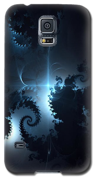 Galaxy S5 Case featuring the digital art The Depths 2 by Arlene Sundby