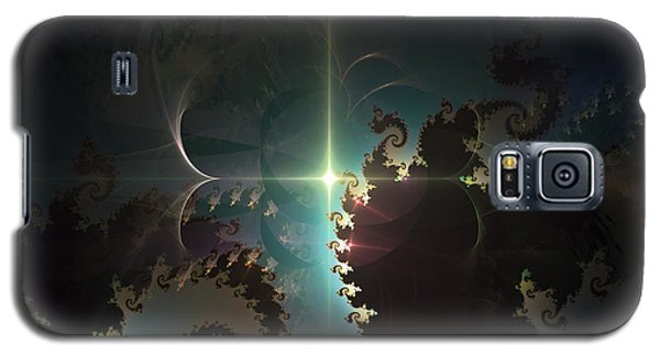 Galaxy S5 Case featuring the digital art The Depths by Arlene Sundby