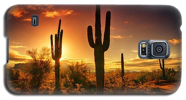 The Desert Awakens  Galaxy S5 Case by Saija  Lehtonen