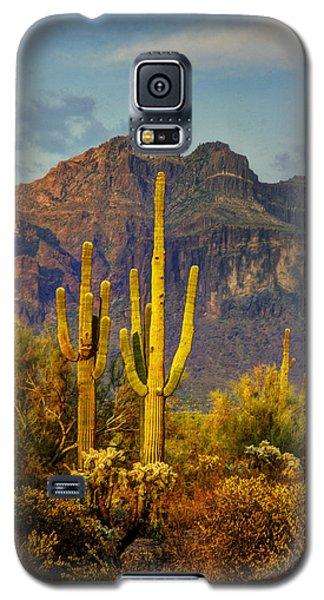 The Desert Golden Hour II  Galaxy S5 Case