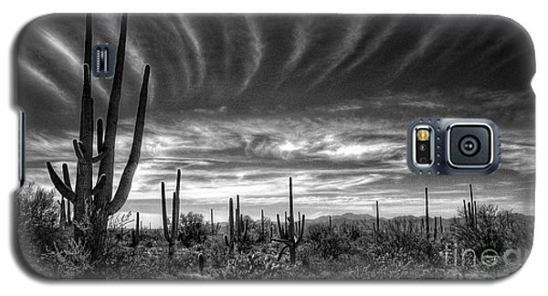 The Desert In Black And White Galaxy S5 Case