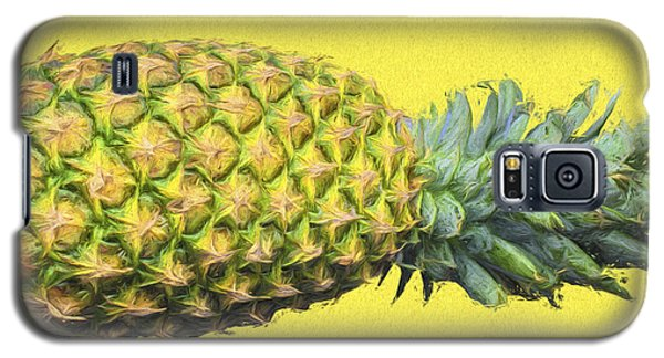 The Digitally Painted Pineapple Sideways Galaxy S5 Case